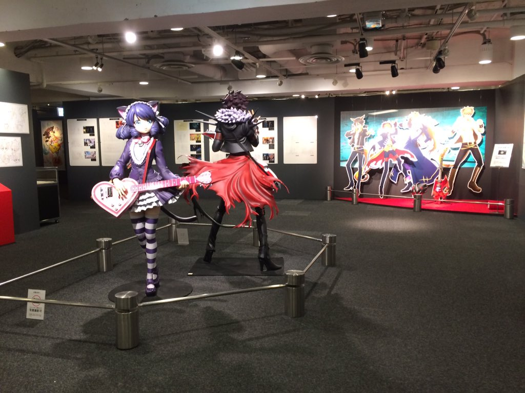 「SHOW BY ROCK!! ザ・グレイトフルロックミュージアム」が「西武池袋本店 別館2階西武ギャラリー」にて開催!